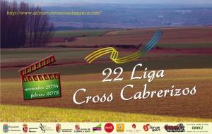 2º CROSS DE LA XXII LIGA DE CROSS CABRERIZOS 2014-2015