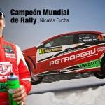 Nicolas Fuchs se coronó Campeón del Grupo de Producción en el Mundial de Rally