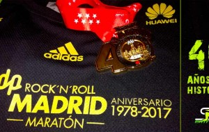 40º Aniversario Rock and Roll Maratón Madrid 2017