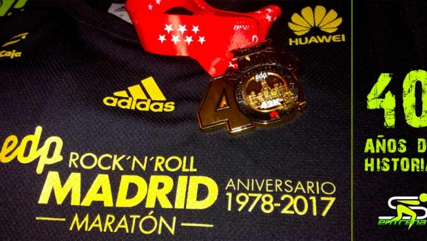 40º Aniversario Rock and Roll Maratón Madrid 2017